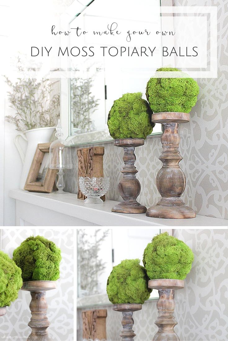 moss topiary balls