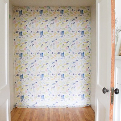 Easy to Install, Stylish & Reusable … the Brilliant Removable Wallpaper that can do it ALL!