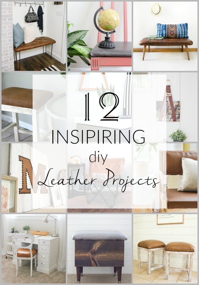 12 Inspiring DIY Leather Projects