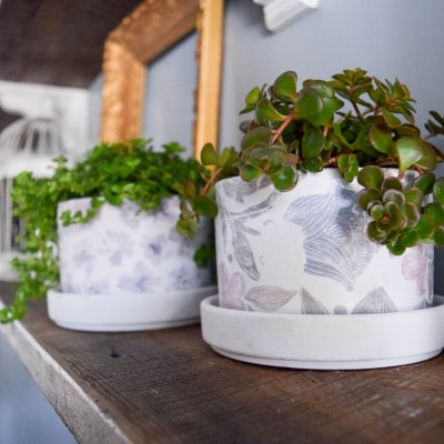 DIY Farmhouse Style Pots