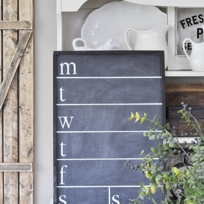 12 Farmhouse Style Chalkboard Projects you Just Won't be Able to Resist!