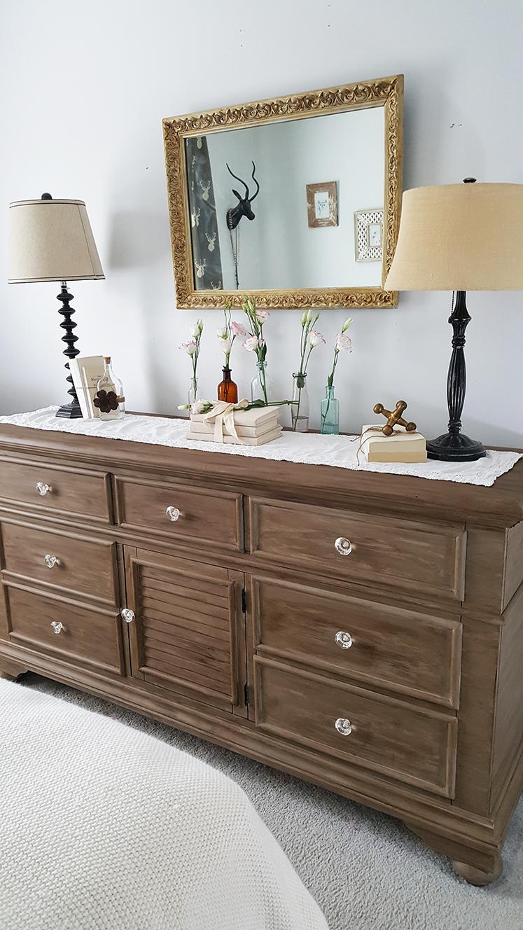 DIY Barnwood Dresser Makeover