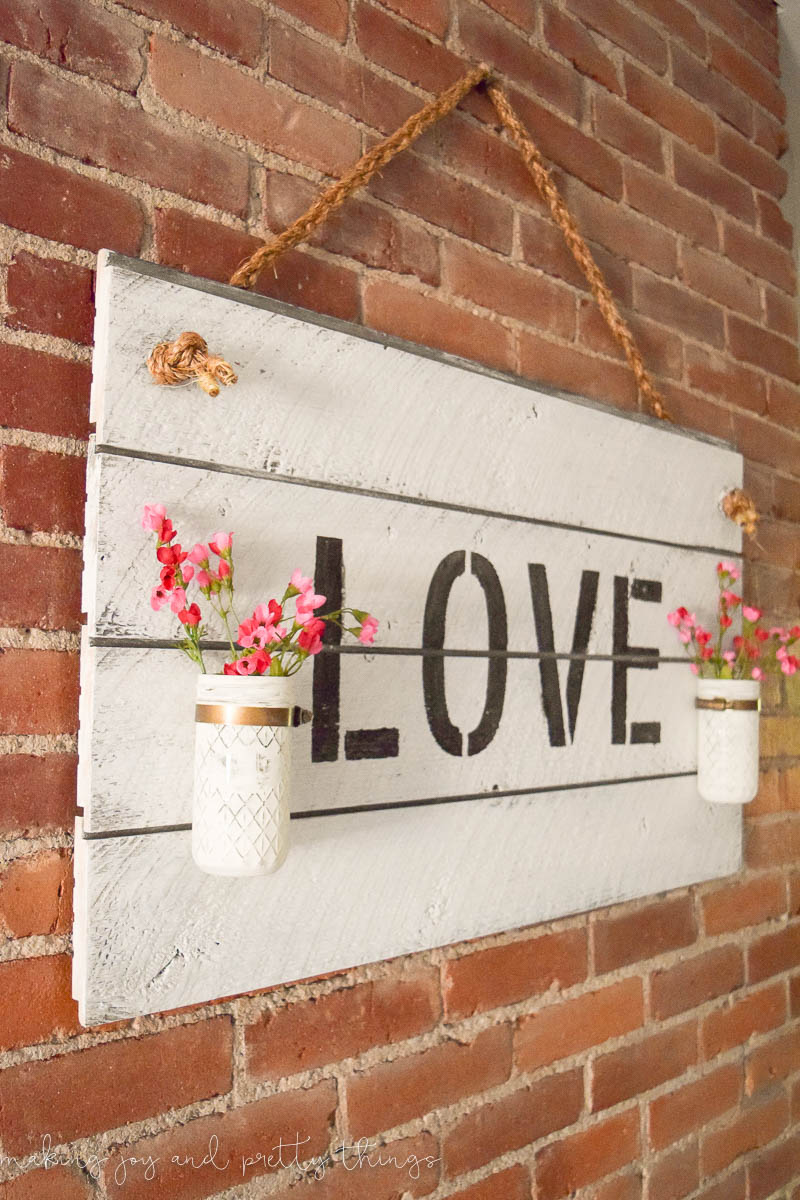 Rustic Farmhouse Inspired Diy Shiplap Sign Making It In