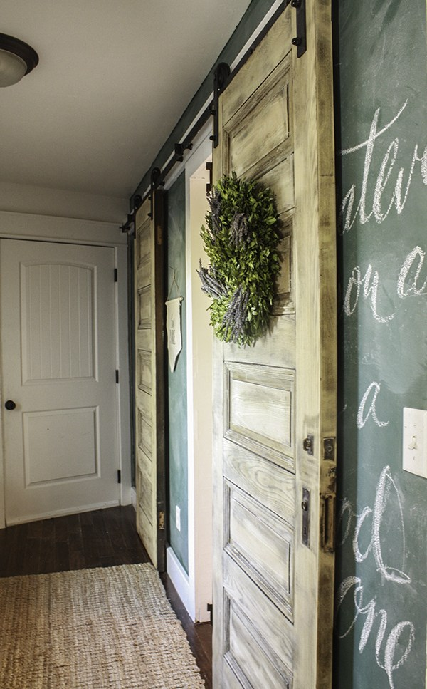 Old School Chalkboard Wall