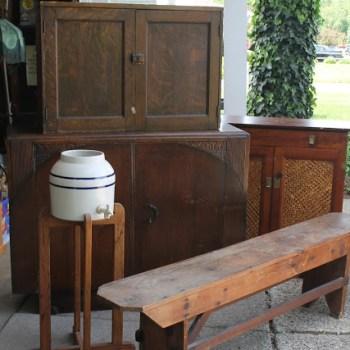Farmhouse Style Bench