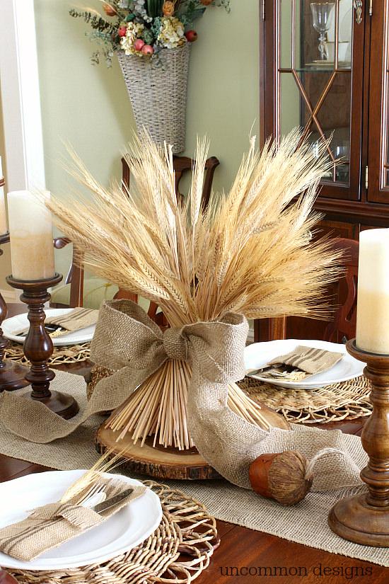 DIY Wheat Bundle