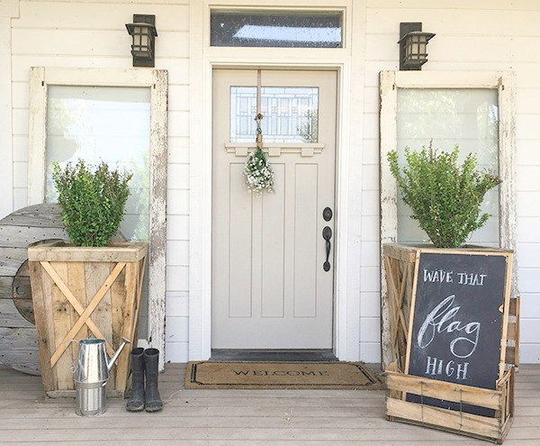 farmhouse style front doorsHow to Design the Perfect Farmhouse Style Porch  making it in the