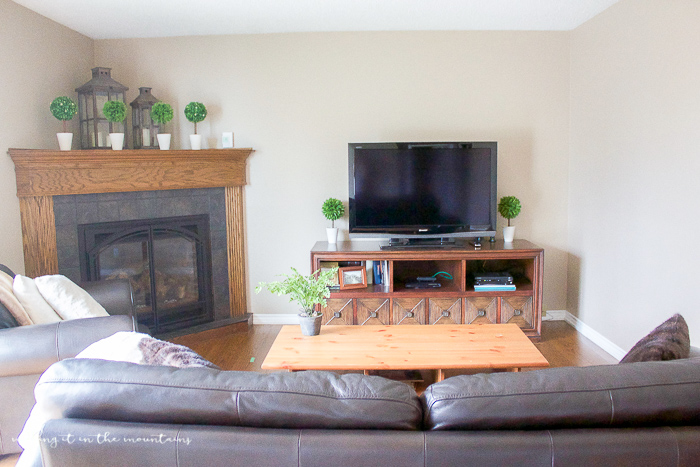 dark outdated family room