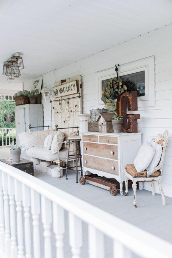 Farmhouse Style Porch