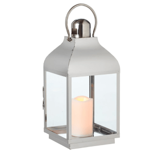 Canadian Tire Silver Lantern
