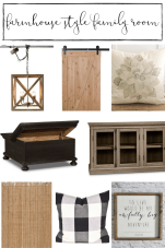 Our plans for to create the coziest farmhouse family room... www.makingitinthemountains.com
