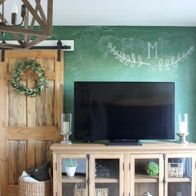 How to Paint a Chalkboard Wall in Any Colour