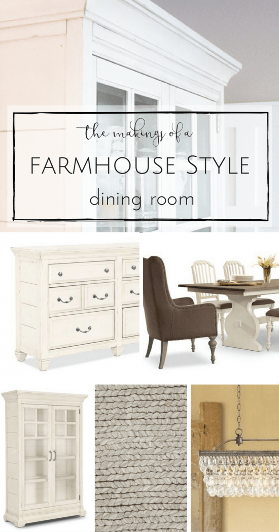 I cannot wait to show y'all how we're planning to bring some rustic charm to our little kitchen dining space with a farmhouse style dining room makeover!