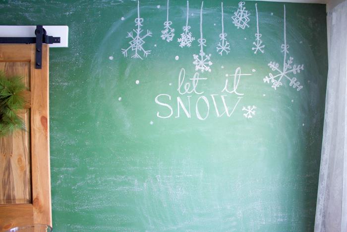 Winter Chalkboard
