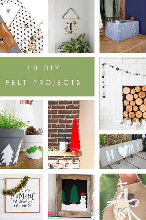 10 Creative Ways to Craft with Felt | www.makingitinthemountains.com