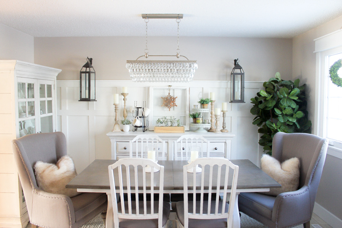 Superbe How To Create A Farmhouse Style Dining Room In Just One Weekend   Making It  In The Mountains
