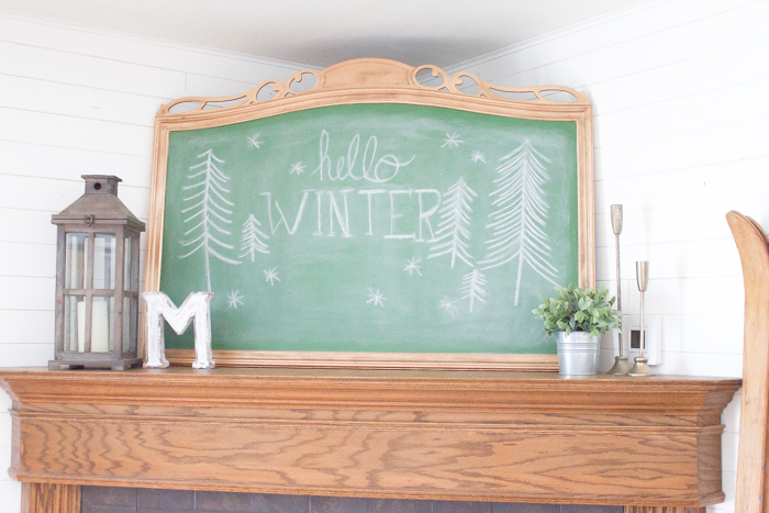 Painting Over An Old Mirror Is Such A Simple And Inexpensive Way To Create  A Chalkboard