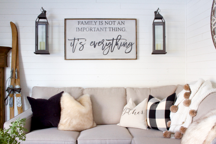 How to perfectly style your sofa in just four simple steps!