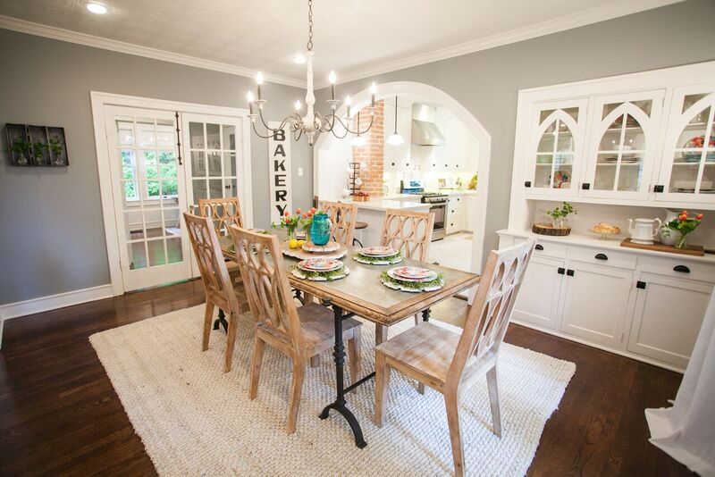 The Darker Gray/green Color Here Is Beautiful. Notice All The Furniture Is  White To Offset The Dark Color And The Room Has A Ton Of Natural Light With  The ...