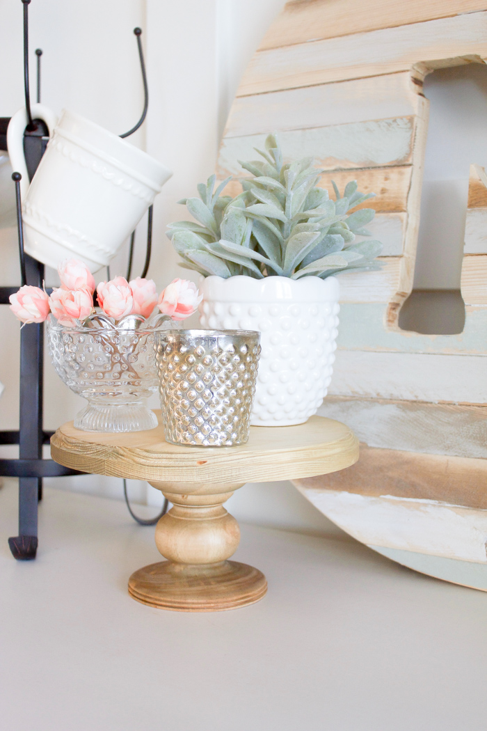 Farmhouse Cake Stand by Making it in the Mountains