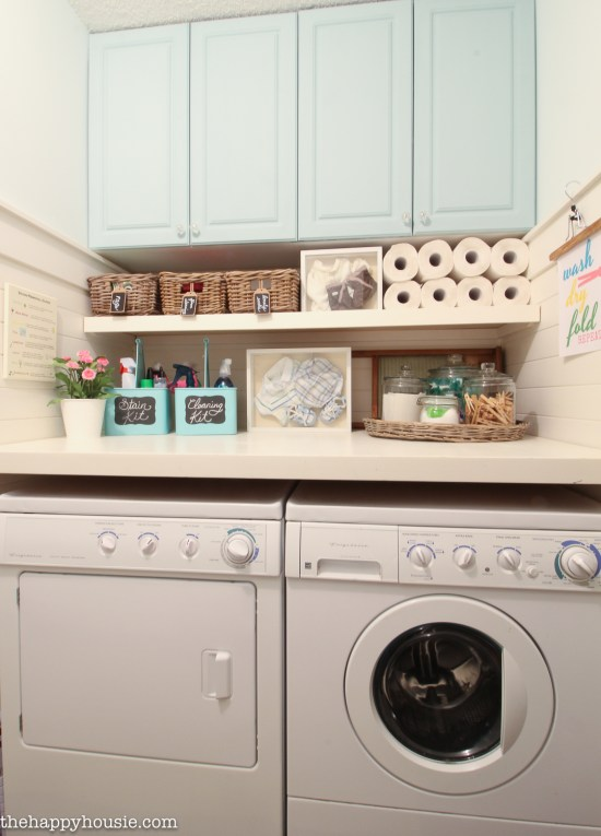 How to Completely Organize your Laundry Room