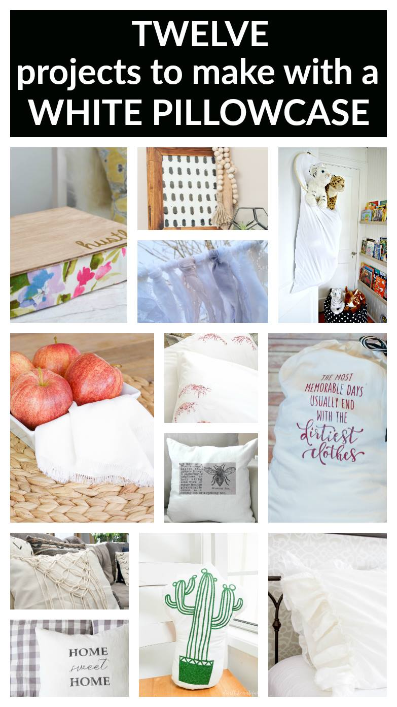 12 Creative ways to use a pillowcase | www.makingitinthemountains.com