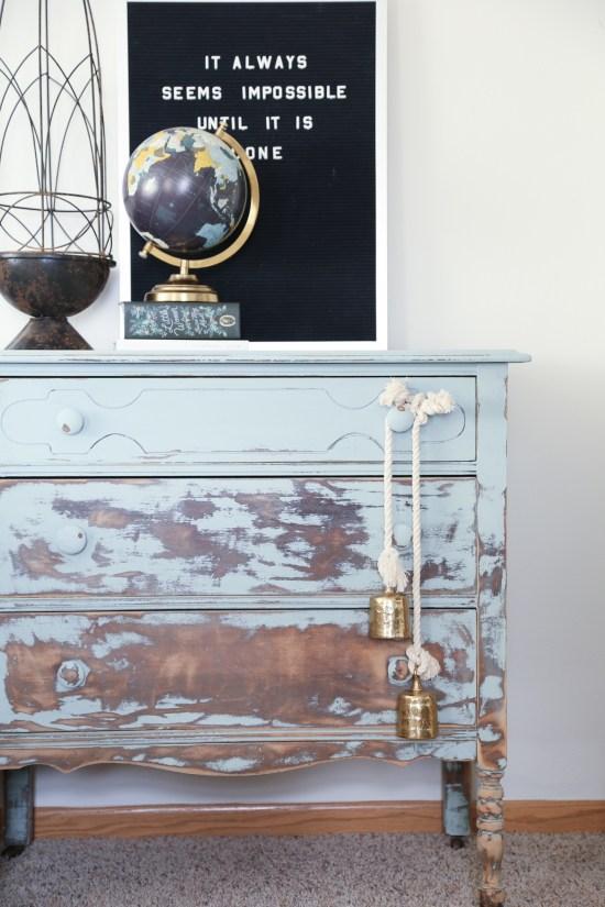 Balayage Painted Dresser