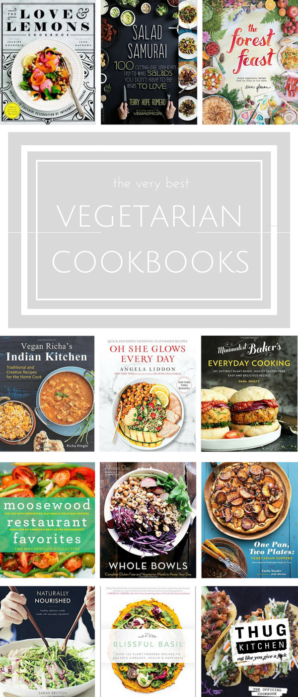 15 of the very best vegetarian cookbooks that are sure to make you crave those veggies! | www.makingitinthemountains.com