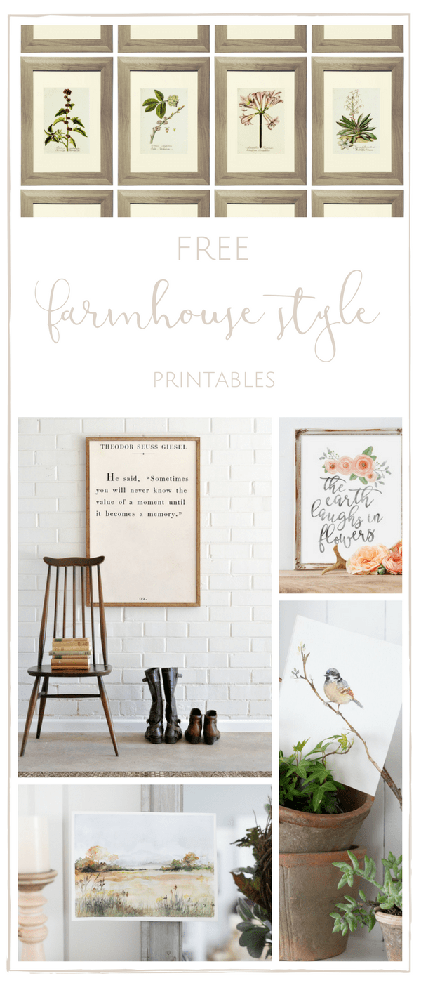 image relating to Free Printable Farmhouse Signs titled 20+ Absolutely free Farmhouse Printables - generating it in just the mountains