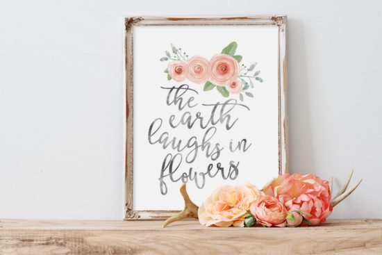 photo relating to Free Printable Wall Art Flowers identified as 20+ Cost-free Farmhouse Printables - developing it within the mountains