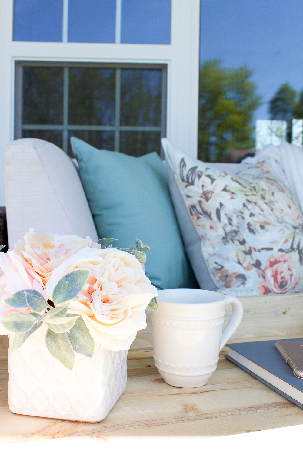 Farmhouse Spring Porch Decor Simple Ways To Welcome