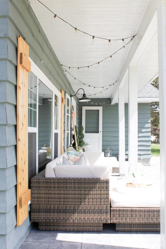 Farmhouse Spring Porch