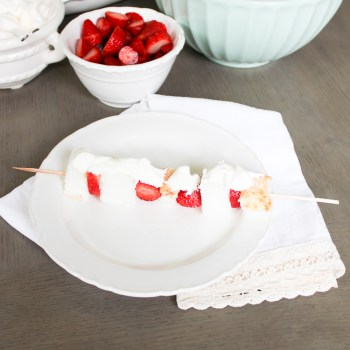 Red + White Summer Dessert