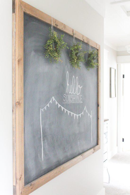 Summer Chalkboard Art | www.makingitinthemountains.com
