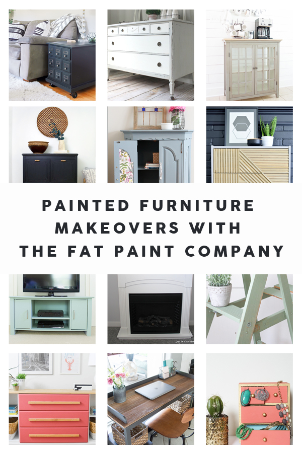 12 Furniture Makeovers with Chalk Paint | www.makingitinthemountains.com