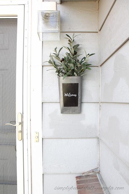 Upcycled Flower Bucket