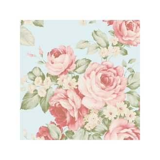 Abby+Rose+III+32.7'+x+20.5+Grand+Floral+Wallpaper+Roll