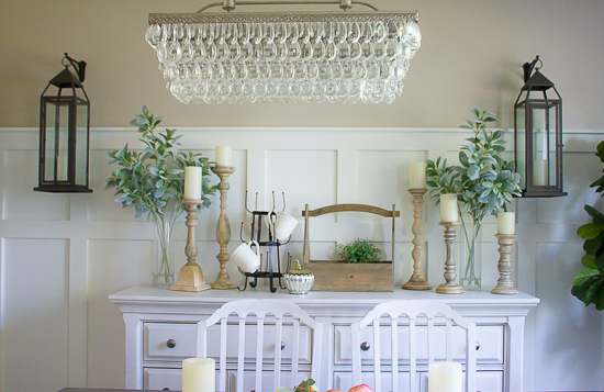 Farmhouse Fall Home Tour | www.makingitinthemountains.com