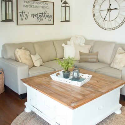 Back to Basics: How to Style a Coffee Table in Two Simple Steps