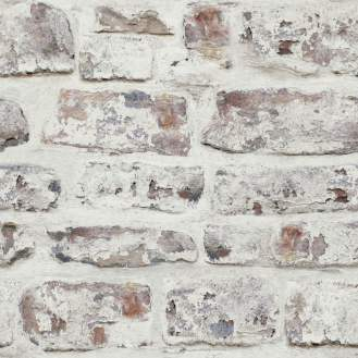 Whitewashed+Wall+White+33.5'+x+22+Brick+Wallpaper