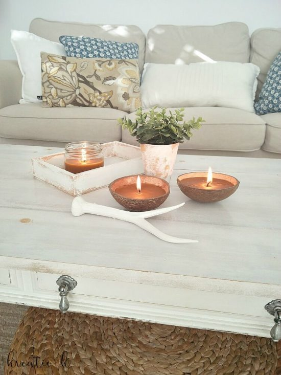 DIY Beeswax Anise Candles