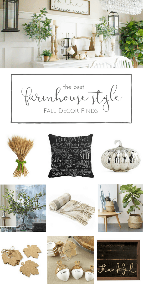 My favourite farmhouse style Fall decor finds, and all for less than $50! | www.makingitinthemountains.com