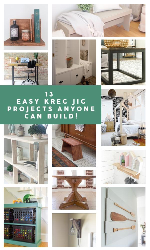 13 Super Simple Kreg Jig Projects