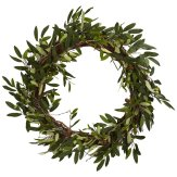 Farmhouse Olive Branch Wreath