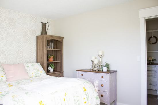 Farmhouse Guest Bedroom - BEFORE