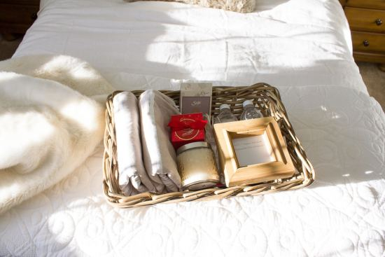 This simple guest welcome basket is such a perfect way to welcome guests to our home, making sure they have everything they need to make their stay with us wonderful!