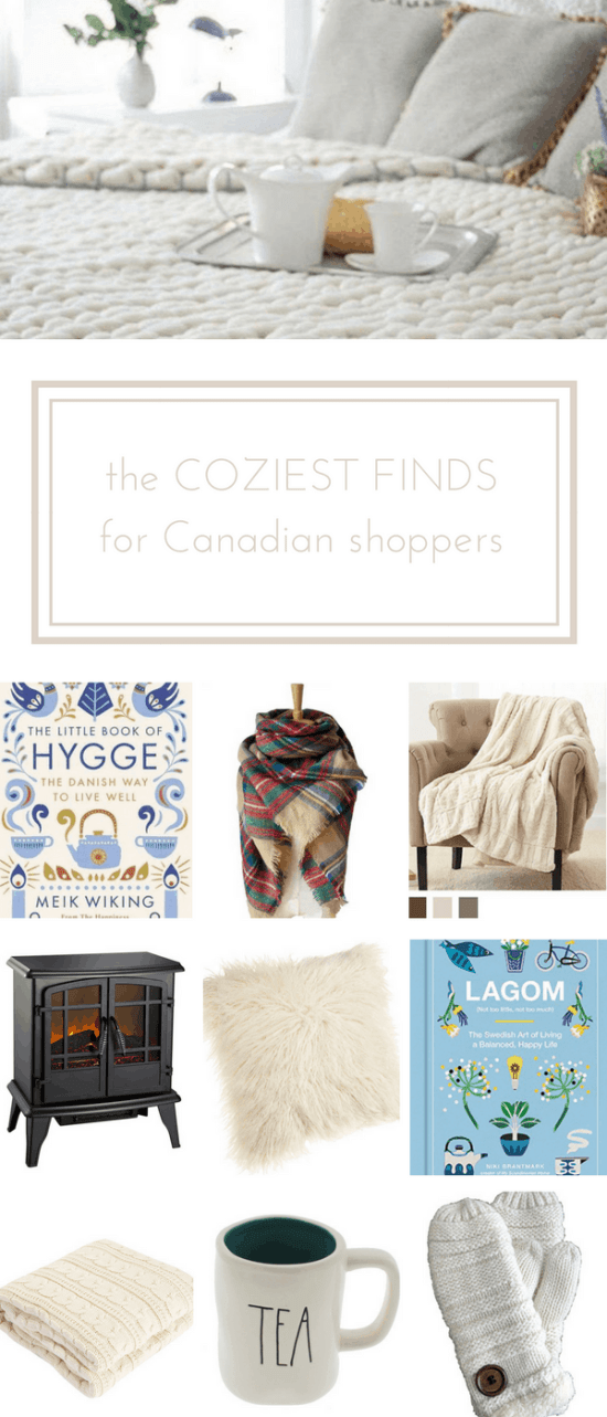 The best cozy finds for online shoppers in Canada | www.makingitinthemountains.com
