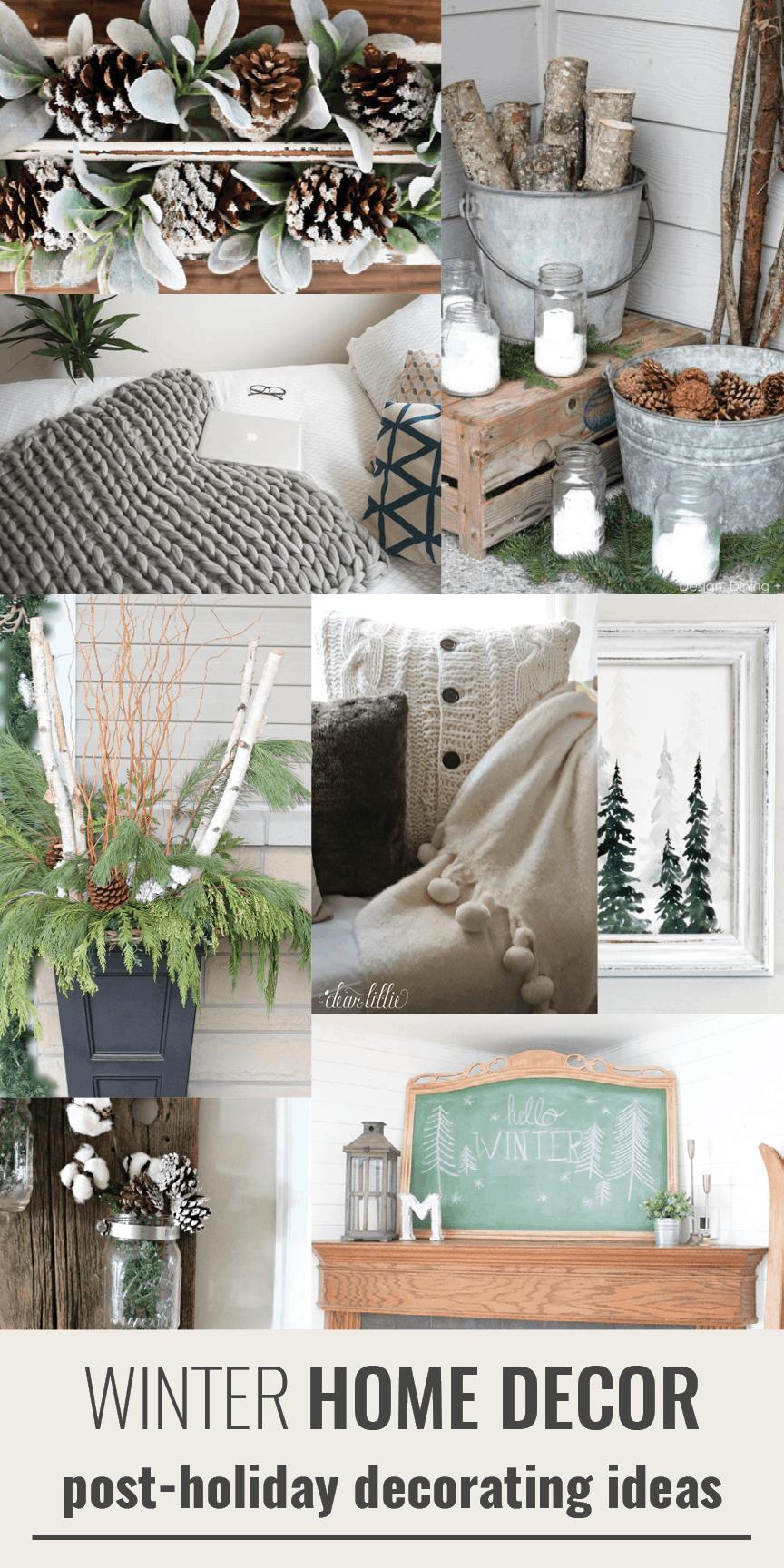 winter decor ideas & 15 Winter Decor Ideas