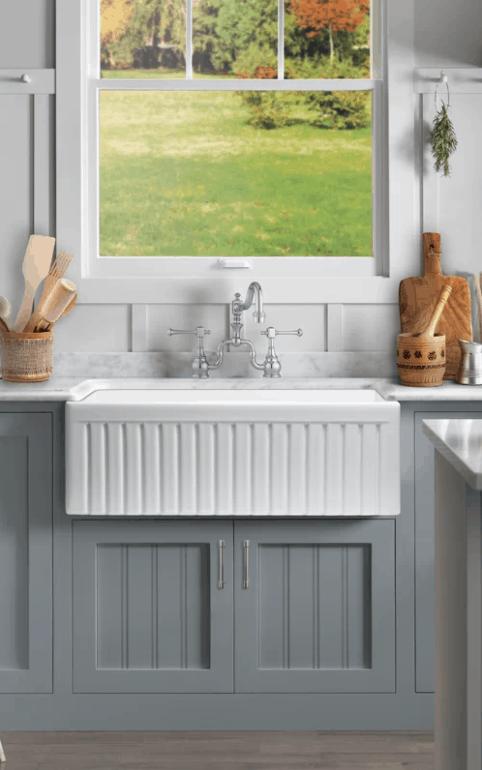 Apron Front Sink