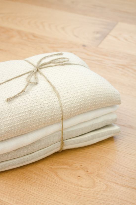 DIY Linen Dish Towel